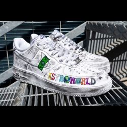 Astroworld - Nike Air Force 1